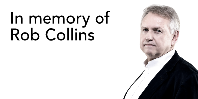 In memory of Rob Collins